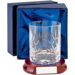 Rugby Crystal Block 90mm