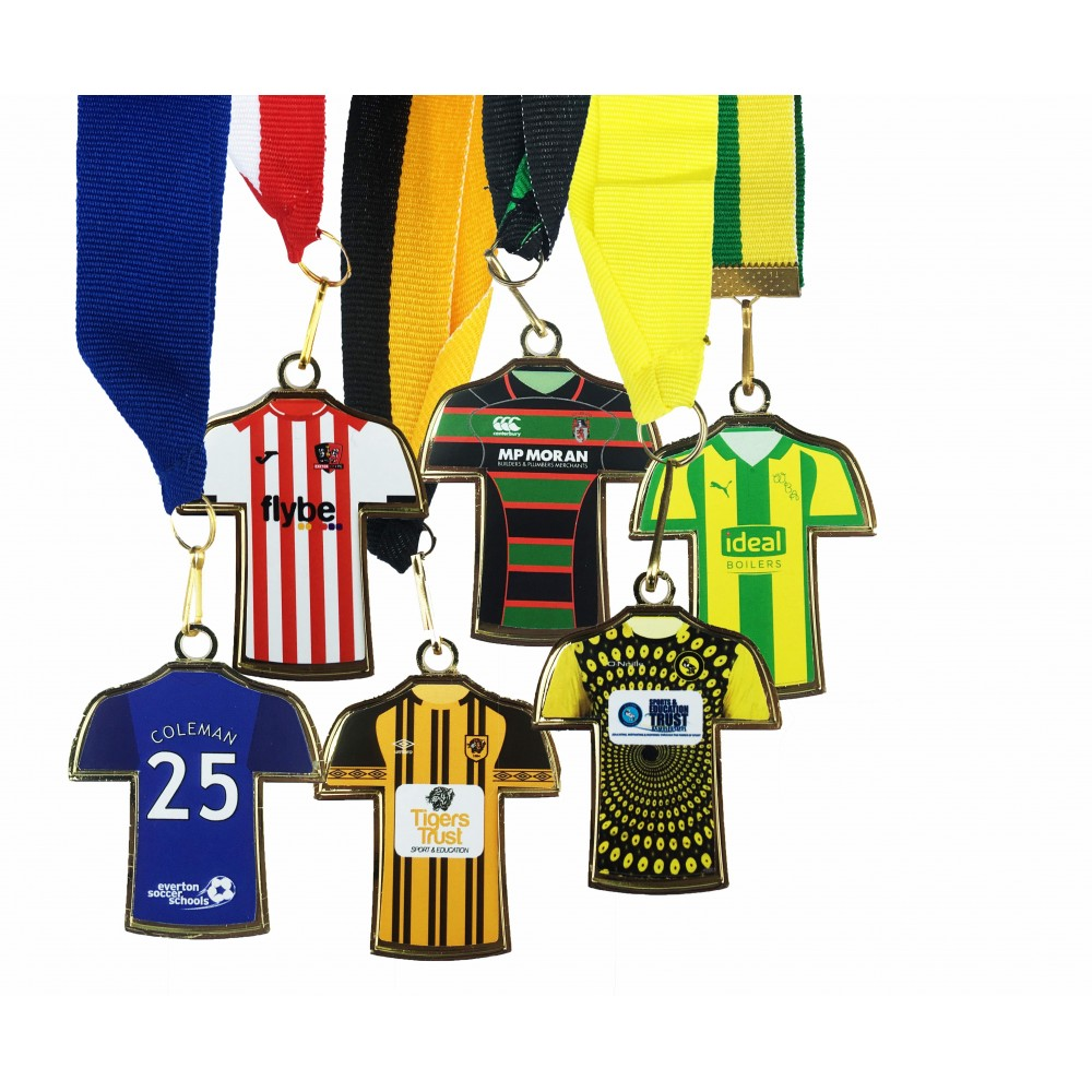 Shirt shape kit medals