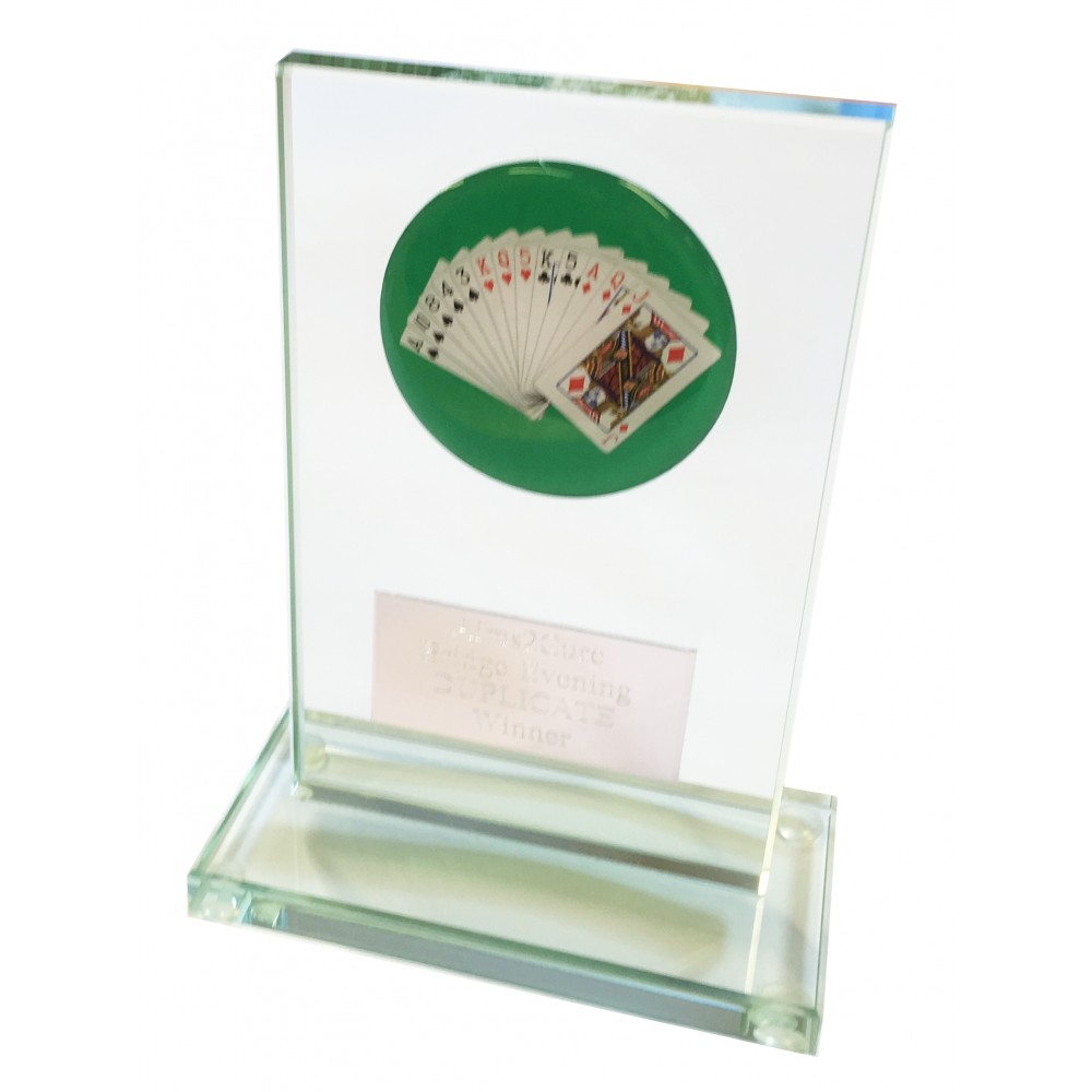 Cribbage or Bridge Trophy