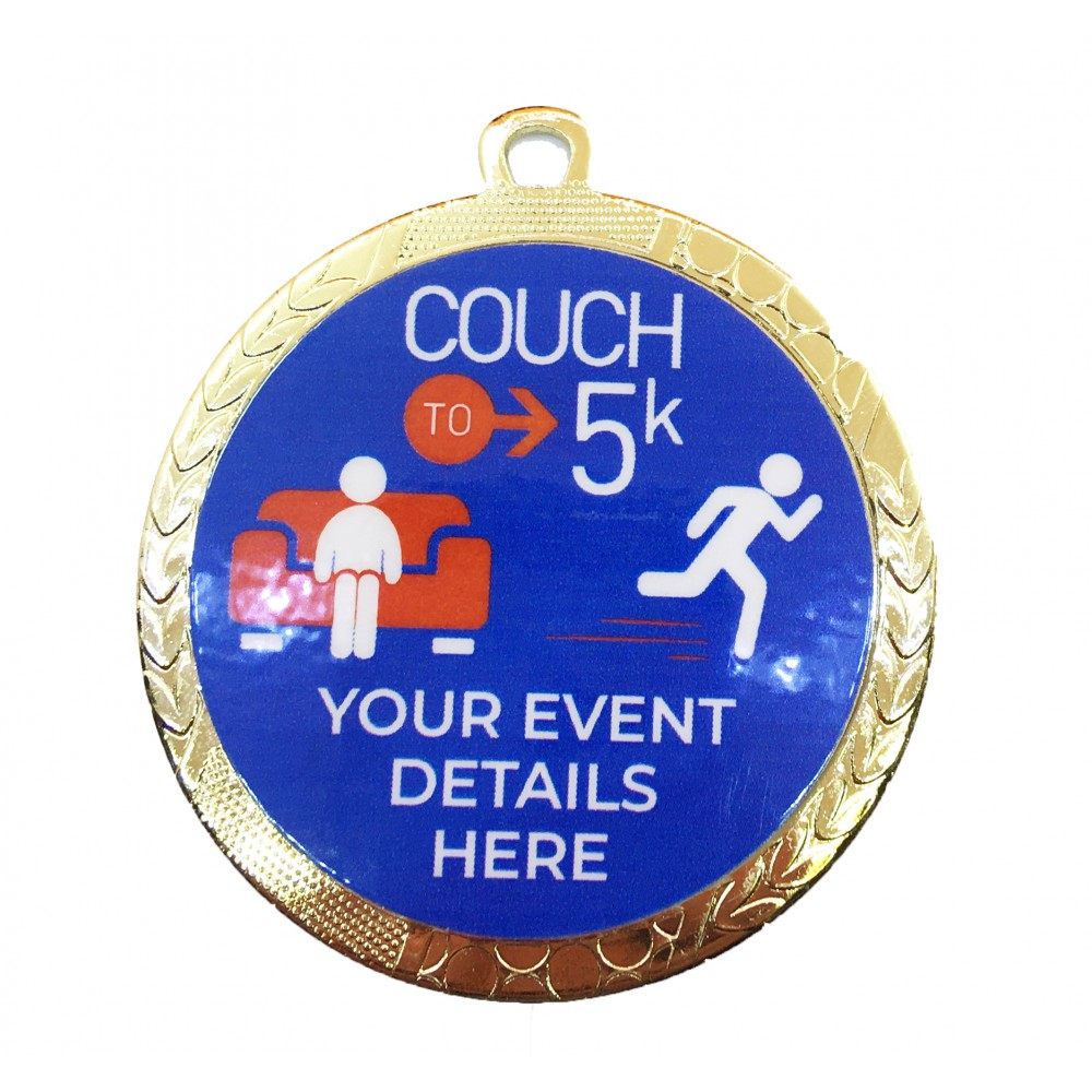 Couch to 5K medals