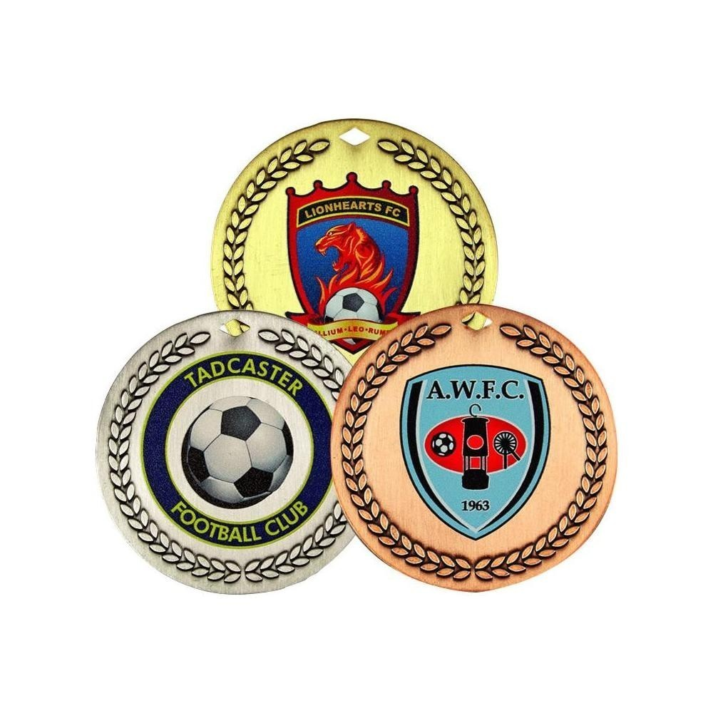 Custom Coloured Medals - 60mm