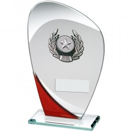 Budget Glass Award - Red