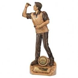 Bullseye Darts Trophy - 3 sizes Male/Female