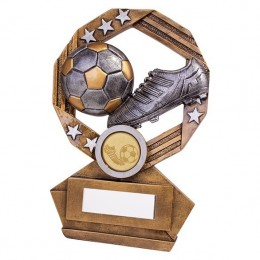 Ball & Boot Trophy for Football