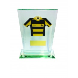Bespoke Club Shirt On Glass