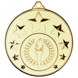 Shooting star medal