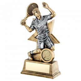 Male Tennis Player Trophy