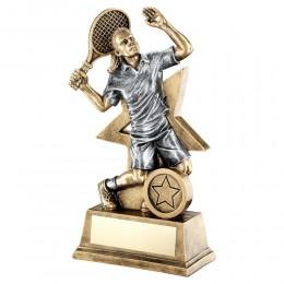Female Tennis Figure Trophy