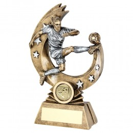 Girl Football Trophy