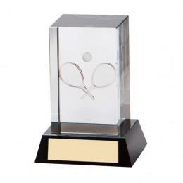 Glass Tennis Hologram award