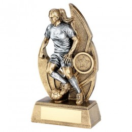 Female Football Trophy