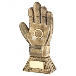Football Goalie Glove Trophy