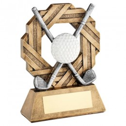 Golf event trophy