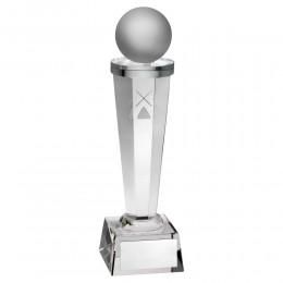 Pool / Snooker Hologram Glass Tower Award