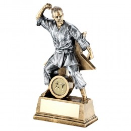 Female Martial Art / Karate Trophy