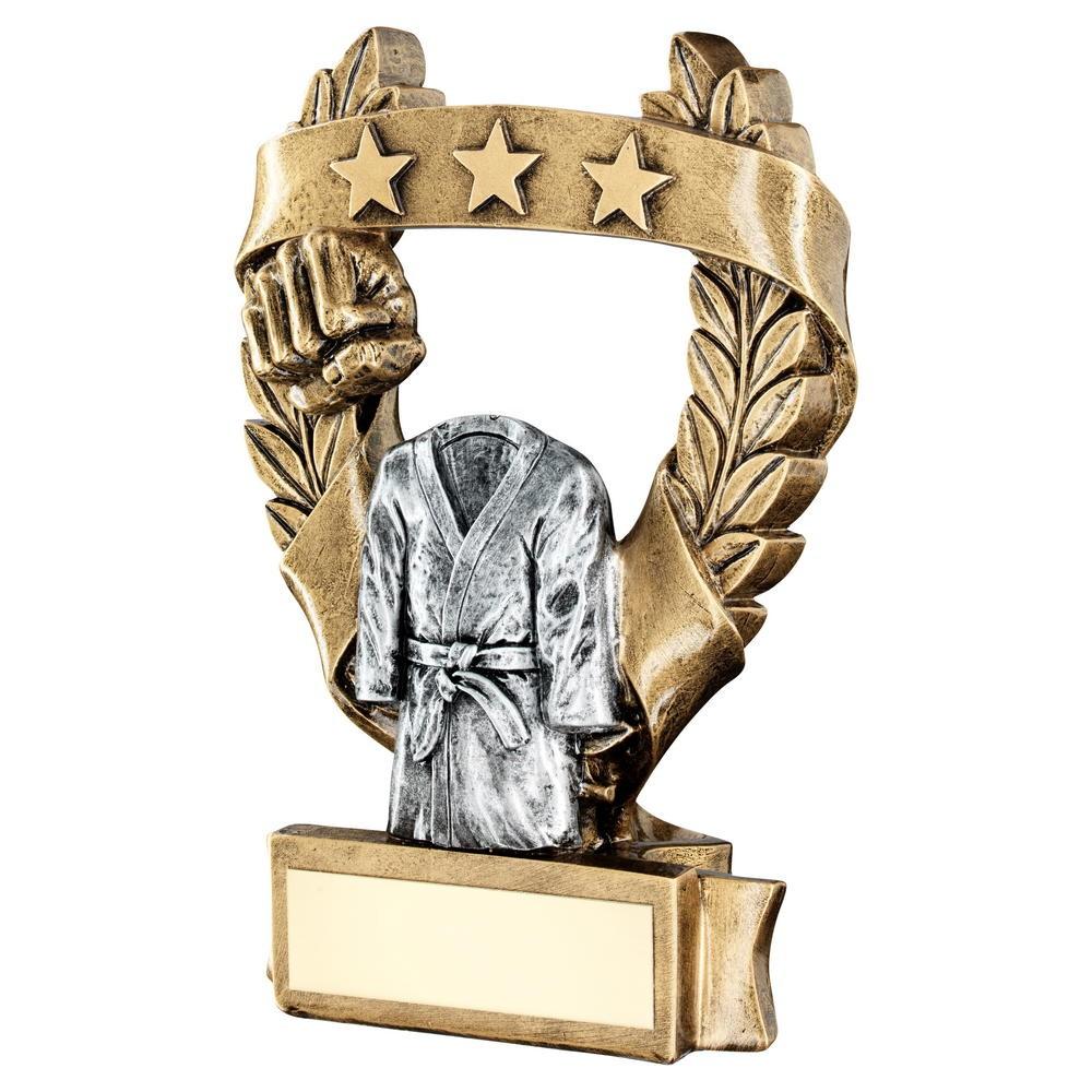 Karate Free Engraving. Martial Arts  Trophy Award