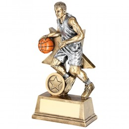 Basketball Player Star Trophy