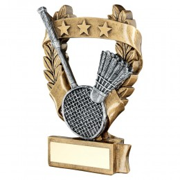 Resin Badminton Trophy