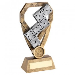 2 tone Dominoes Trophy