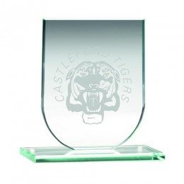 Shield Glass with engraving