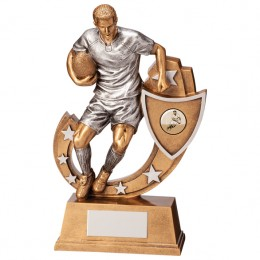 Rugby Figure Trophy